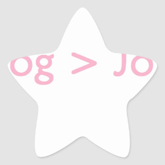Rosa del blog pegatinas forma de estrellaes personalizadas
