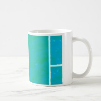rosa del blue& taza básica blanca