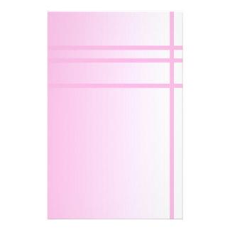 Rosa del bonito. Diseño elegante simple Flyer A Todo Color