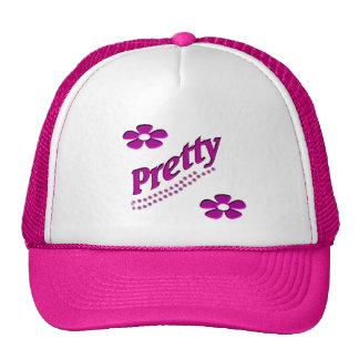 rosa del bonito gorras de camionero