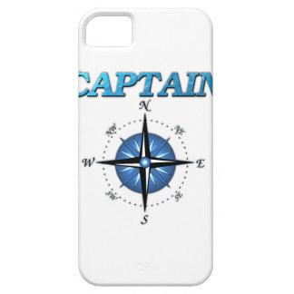 Rosa del capitán y de compás iPhone 5 carcasas