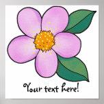 Rosa del caramelo del flor 07 impresiones