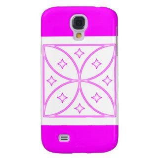 Rosa del caso de Iphone 3 de las estrellas de la m