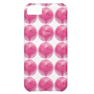 Rosa del caso del iphone de los pétalos de Pinkopo