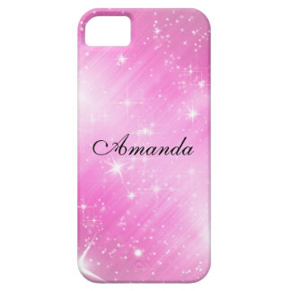 Rosa del caso Iphone5 Funda Para iPhone 5 Barely There