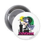 Rosa del Catwoman y del logotipo Pins