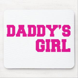 rosa del chica de los daddys mouse pads
