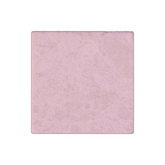 Rosa del chicle imán de piedra