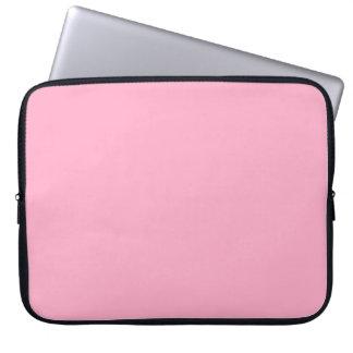 Rosa del color del rosa en colores pastel de princ mangas computadora