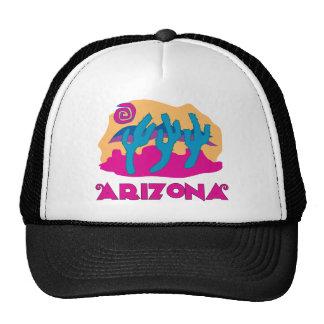 Rosa del desierto de Arizona Gorras De Camionero