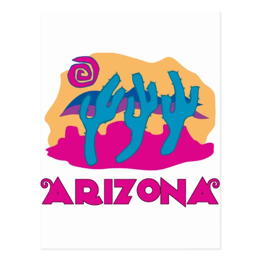 Rosa del desierto de Arizona Postales