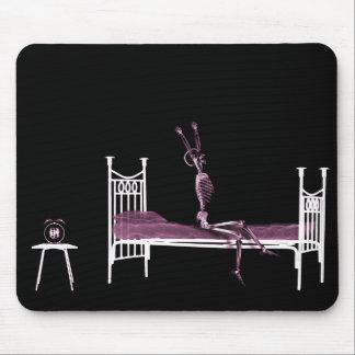 Rosa del esqueleto de la radiografía de la hora de alfombrillas de raton