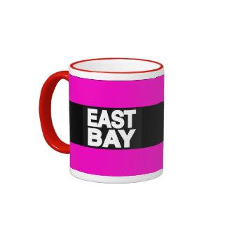 Rosa del este de la bahía 2 taza a dos colores