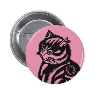 Rosa del gato de Katagami Pins