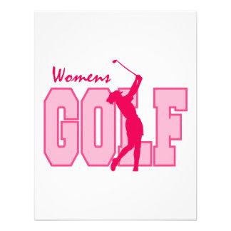 Rosa del golf de las mujeres comunicado