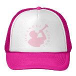 Rosa del gorra del camionero de Moroni del ángel