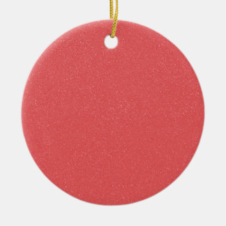 Rosa del hielo de la fresa de PANTONE con falso Adorno Redondo De Cerámica