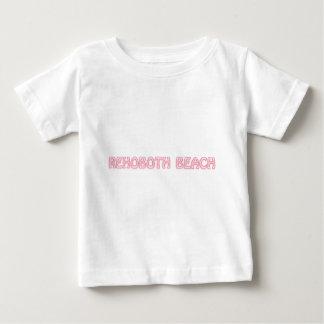 Rosa del hobo de la playa de Rehoboth Poleras