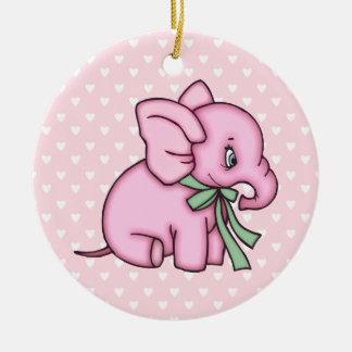 Rosa del juguete del elefante ornatos
