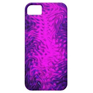Rosa del líquido iPhone 5 carcasa