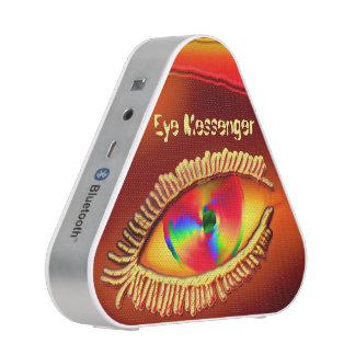 Rosa del mensajero del ojo altavoz