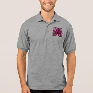 Rosa del pulpo de Haeckel Camiseta