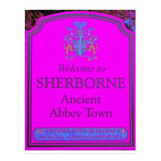 rosa del sherborne postal