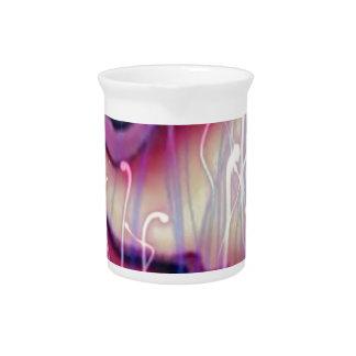 rosa del sonido líquido jarron