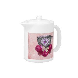 Rosa del té y de rosas