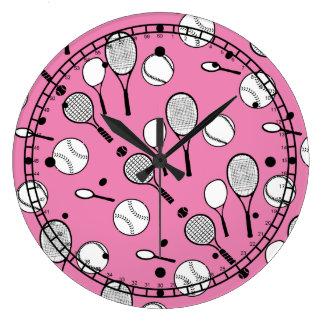 Rosa del tiempo del tenis relojes