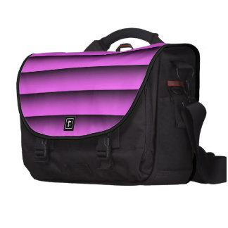 Rosa del tono del llano dos bolsa de ordenador