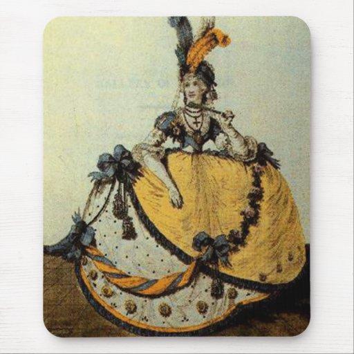 Rosa del vintage del catálogo de Mousepad del ~ de Alfombrilla De Ratón