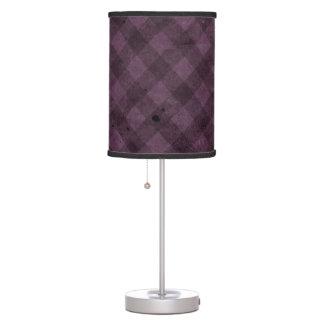 Rosa del vintage lámpara de mesilla de noche