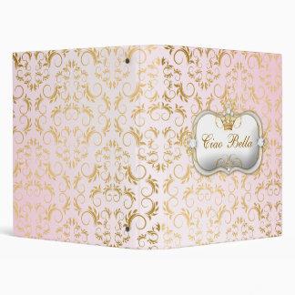 "Rosa divino de oro de 311 Ciao Bella Carpeta 1"""