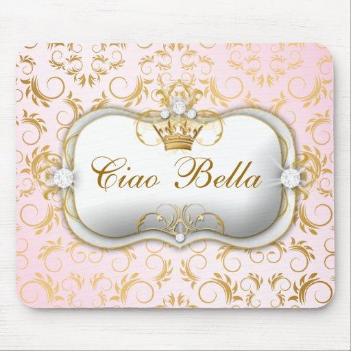 Rosa divino de oro de 311 Ciao Bella Tapetes De Ratones