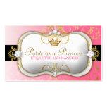 rosa divino de oro de 311-Ciao Bella Tarjeta De Visita