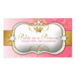 Rosa divino de oro de 311 Ciao Bella Tarjeta Personal