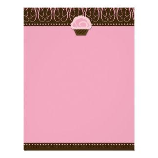 rosa dulce del aviador 311-Swirly Tarjeton