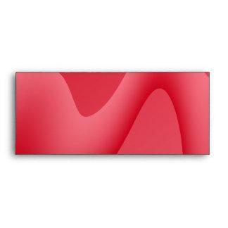 Rosa e imagen roja del diseño del remolino sobres