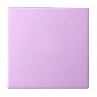 Rosa eléctrico de la lavanda azulejo cuadrado pequeño