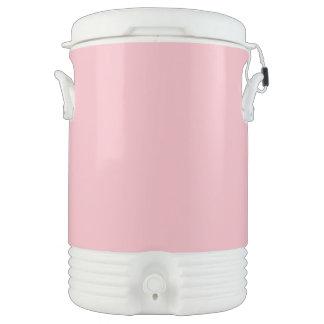 Rosa en colores pastel enfriador de bebida igloo