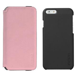 Rosa en colores pastel funda billetera para iPhone 6 watson