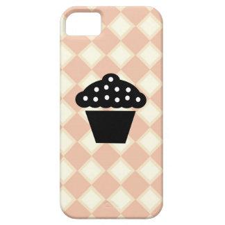 Rosa en colores pastel y caso poner crema del iPho iPhone 5 Case-Mate Cárcasa
