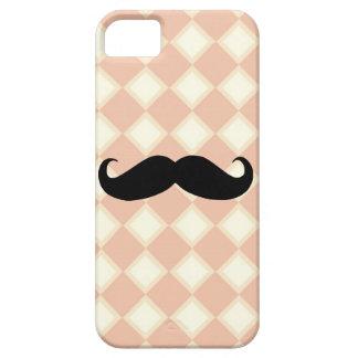 Rosa en colores pastel y caso poner crema del iPho iPhone 5 Cárcasas