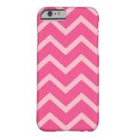 Rosa en el caso rosado del iPhone 6 del galón del Funda De iPhone 6 Slim