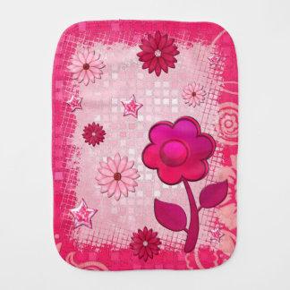Rosa en el juego Jeweled Paños Para Bebé