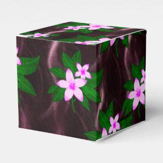 Rosa en púrpura oscura caja para regalos