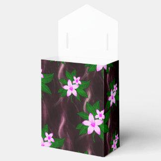 Rosa en púrpura oscura cajas para regalos