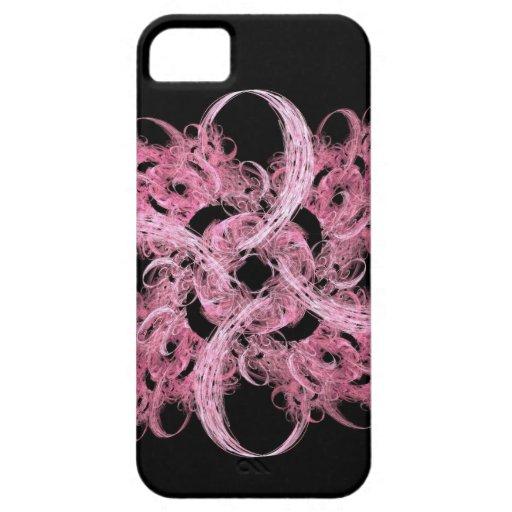 Rosa eterno iPhone 5 fundas