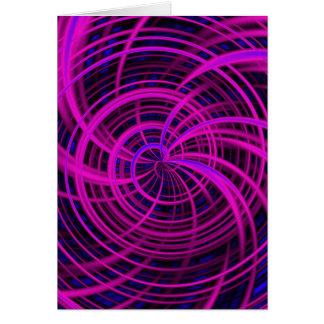 Rosa feliz, negro (c) tarjeta de felicitación